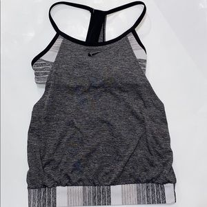 Nike Tank Top With Built In Sports Bra